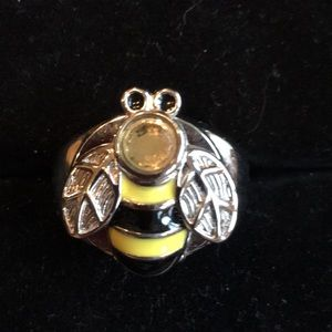 Bumble bee ring watch.